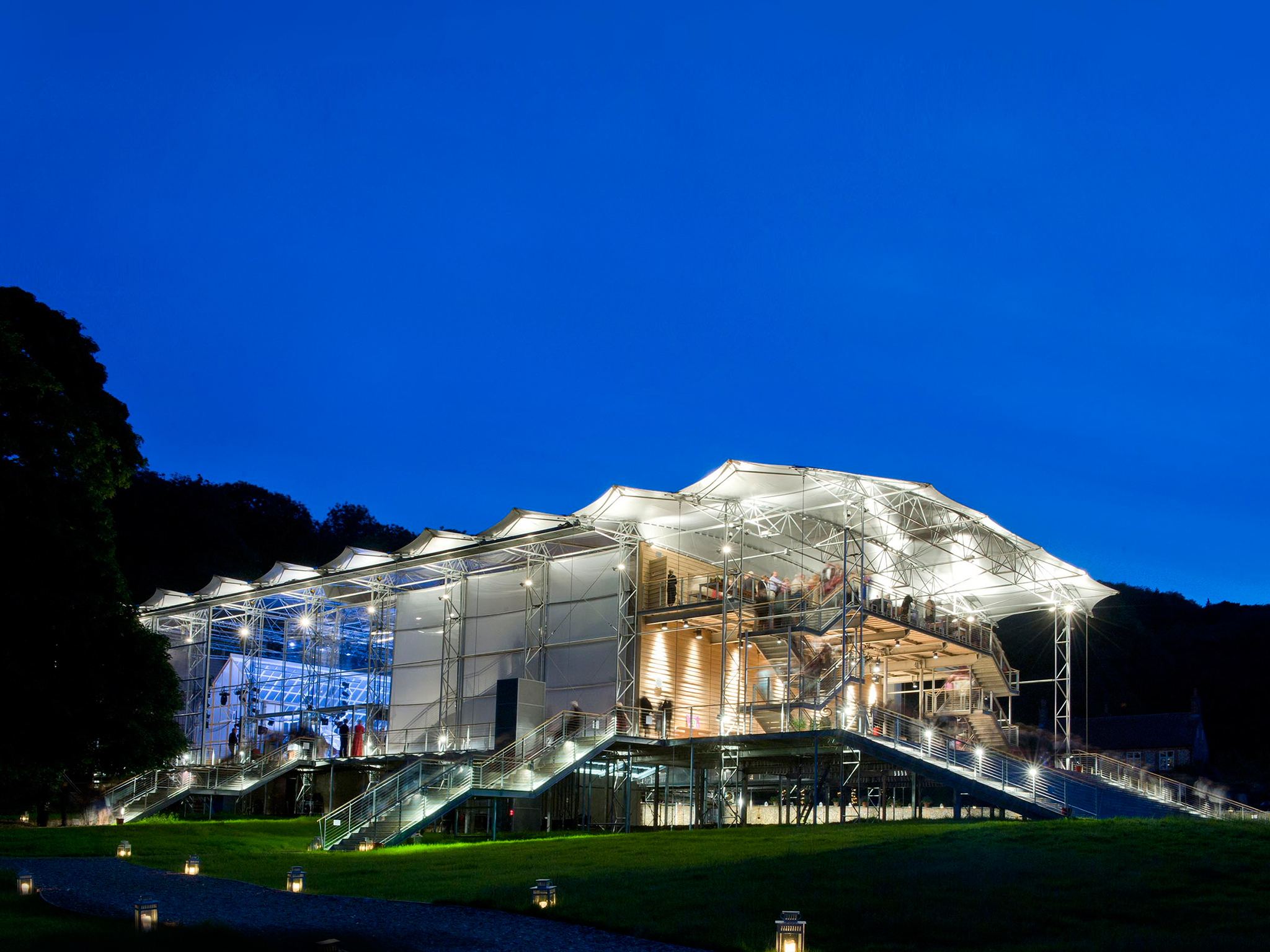 Garsington Opera Pavilion, Wormsley Estate, 2012