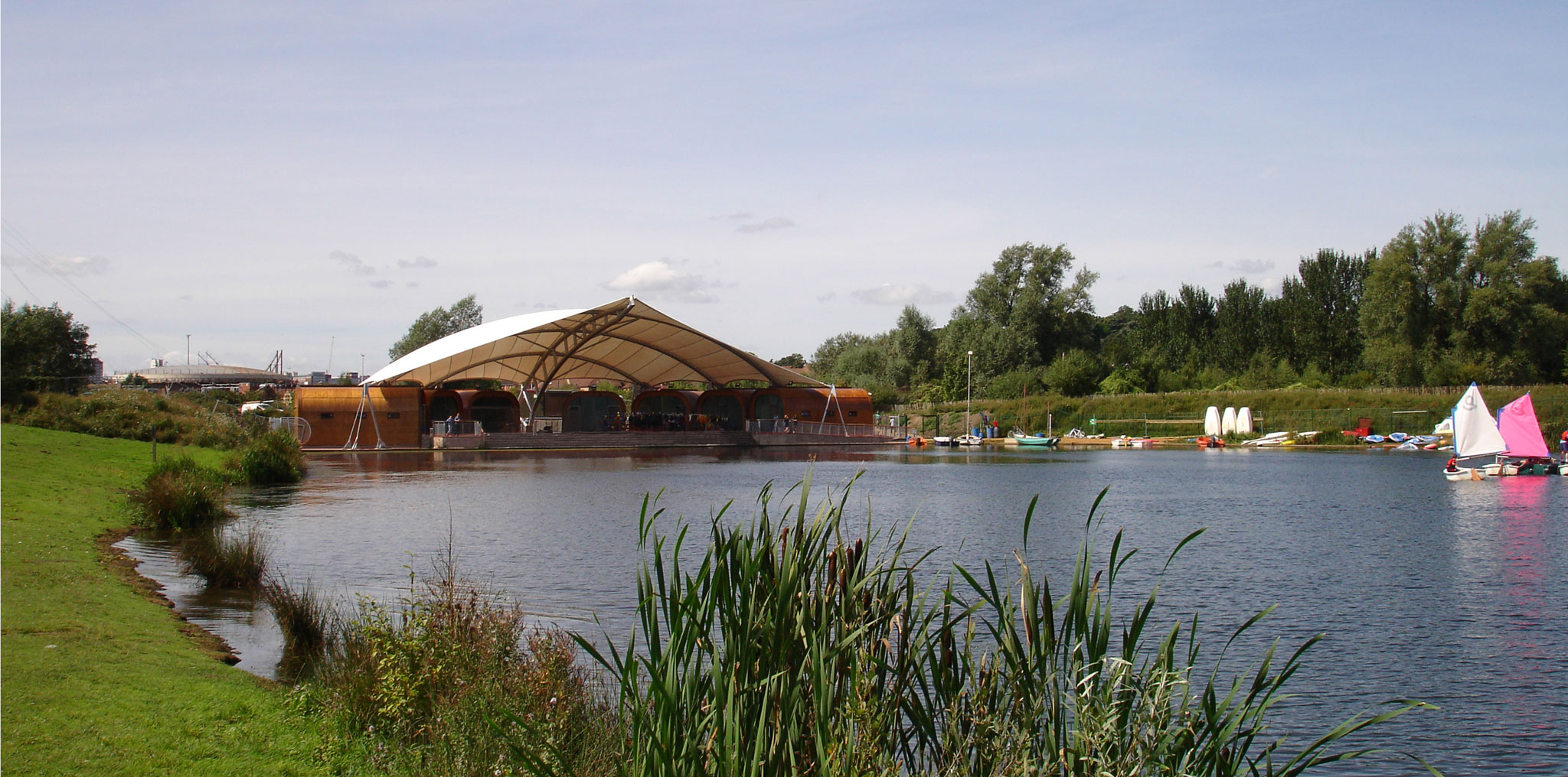 Water Activities Centre for Whitlingham County Park, Norfolk, 2005