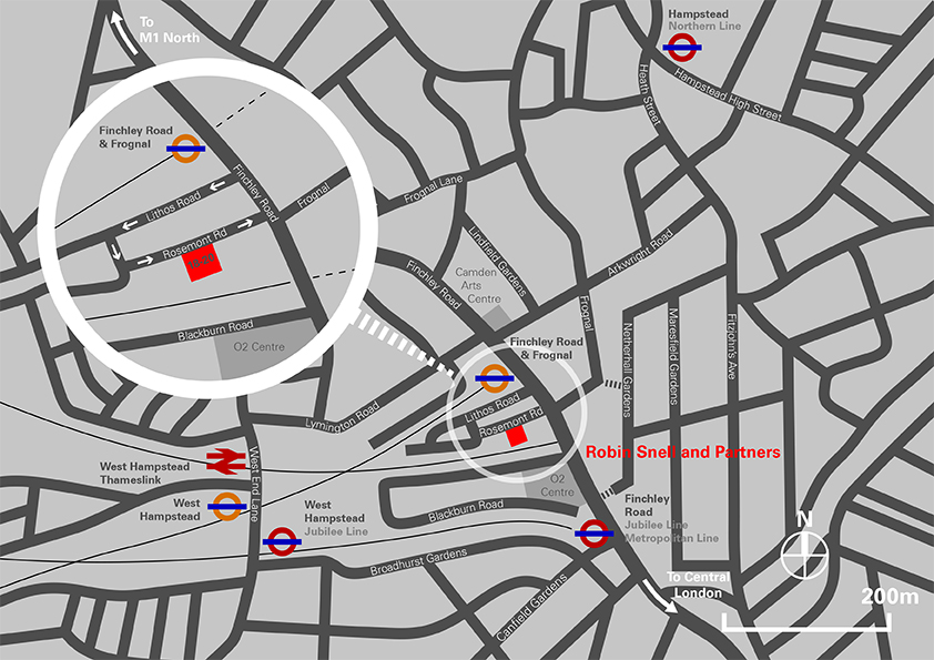 RSP_Rosemont Road_Location Map